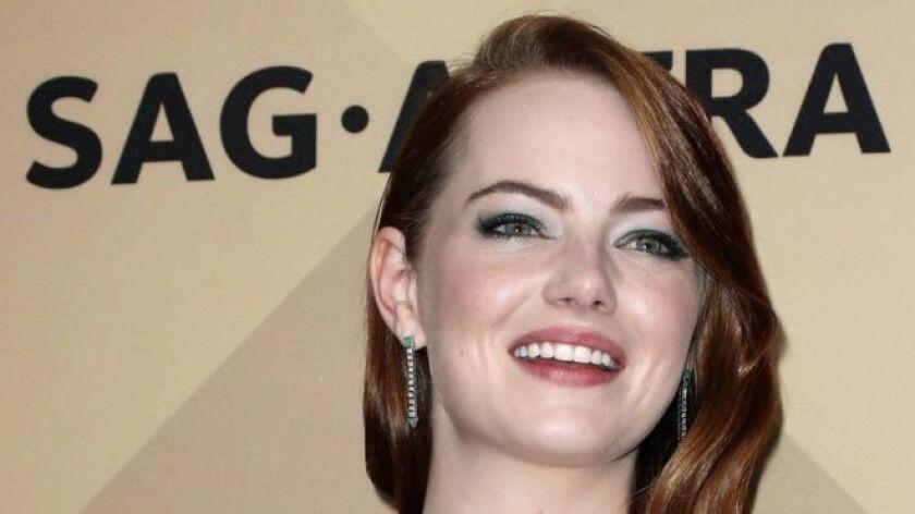 Emma Stone es una seria candidata al Óscar.