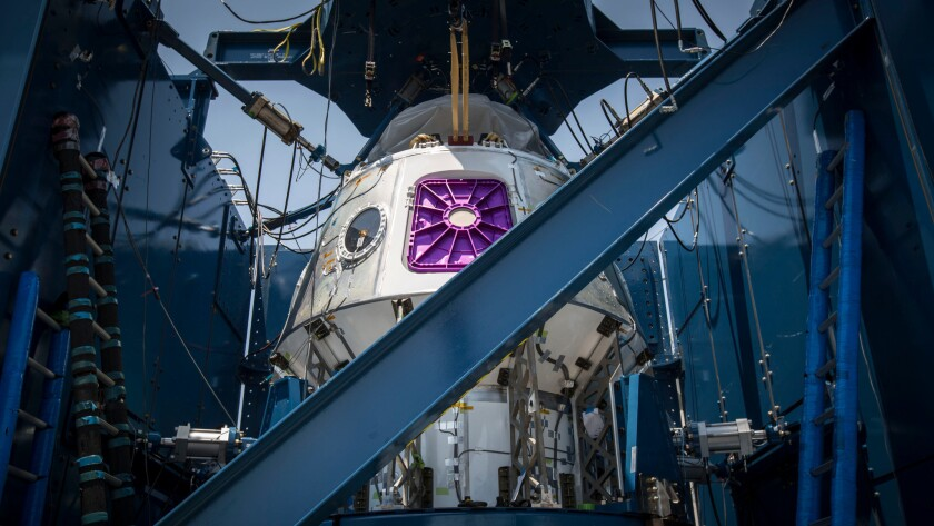 SpaceX's Crew Dragon capsule