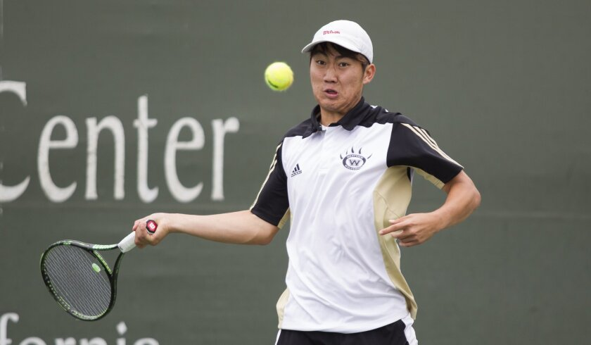 Westview senior Rae Lan was forced to default in the San Diego Section singles quarterfinals because of a scheduling conflict with his AP Chinese test.
