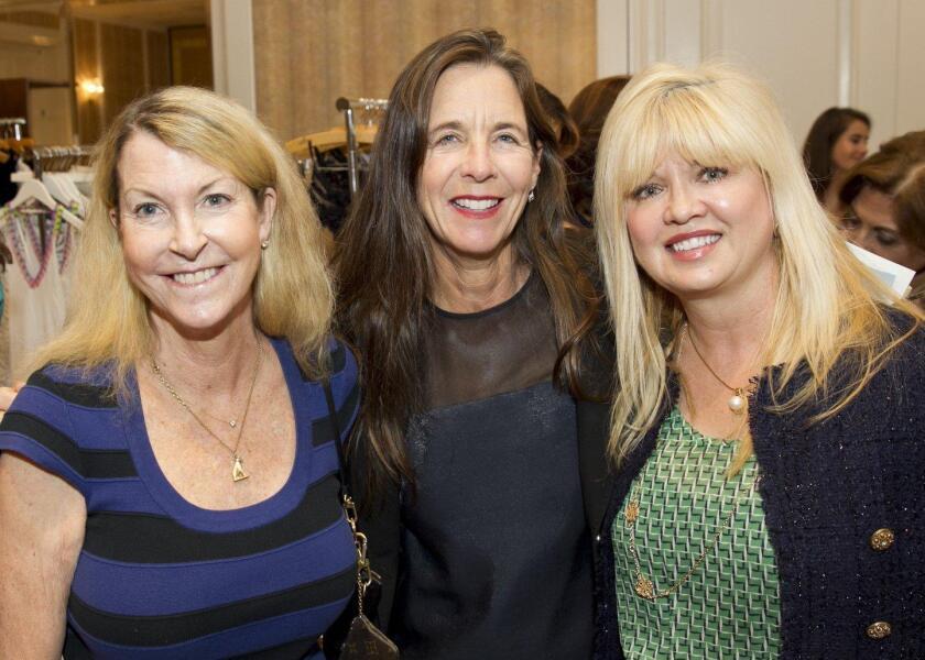 Cathy Polk, Deana Ingalls, Sandra Dicicco