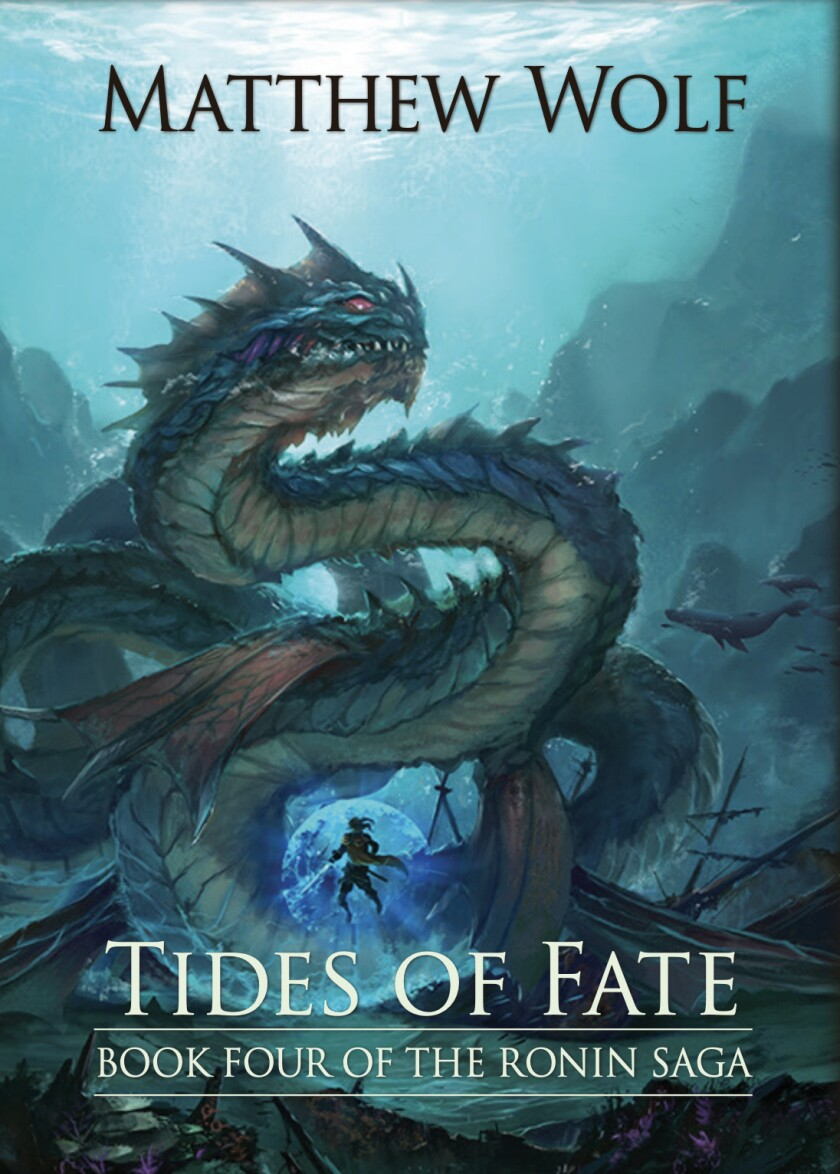 """The cover of """"Tides of Fate"""" by Matthew Wolf"""