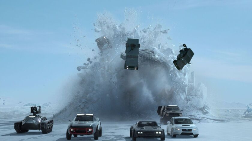 """A scene from the film """"The Fate of the Furious."""" Credit: Universal Pictures"""