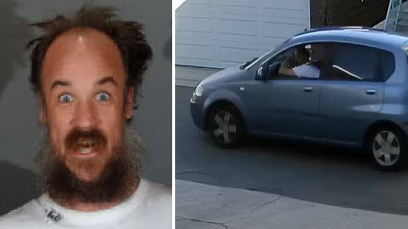 John W. Nuggent was arrested on suspicion of disturbing the peace after El Segundo police found air-horn equipment in his Chevrolet Aveo on Sunday.