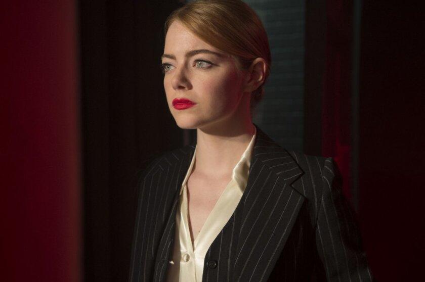 """Emma Stone stars in """"La La Land."""" (Dale Robinette / Lionsgate)"""