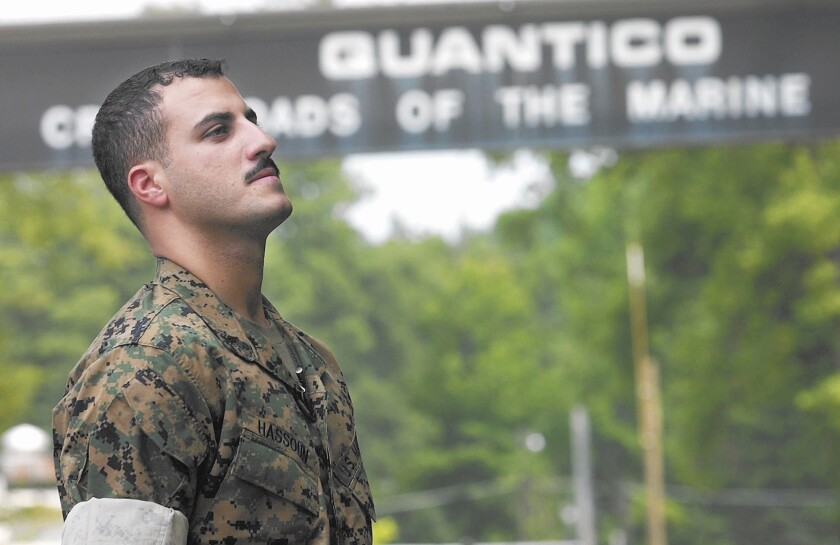 Muslim Marine's long, strange tale is recounted in court-martial