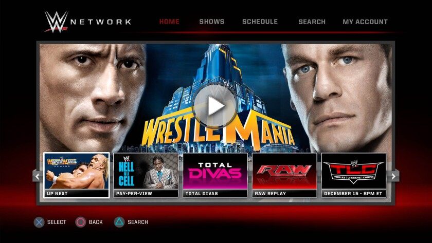 The new WWE Network will be streamed over the Internet, a method that is known in the entertainment industry as over the top, or OTT.