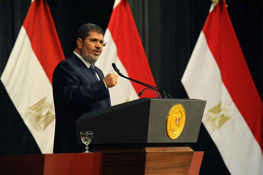 Egyptians have lost faith in Morsi