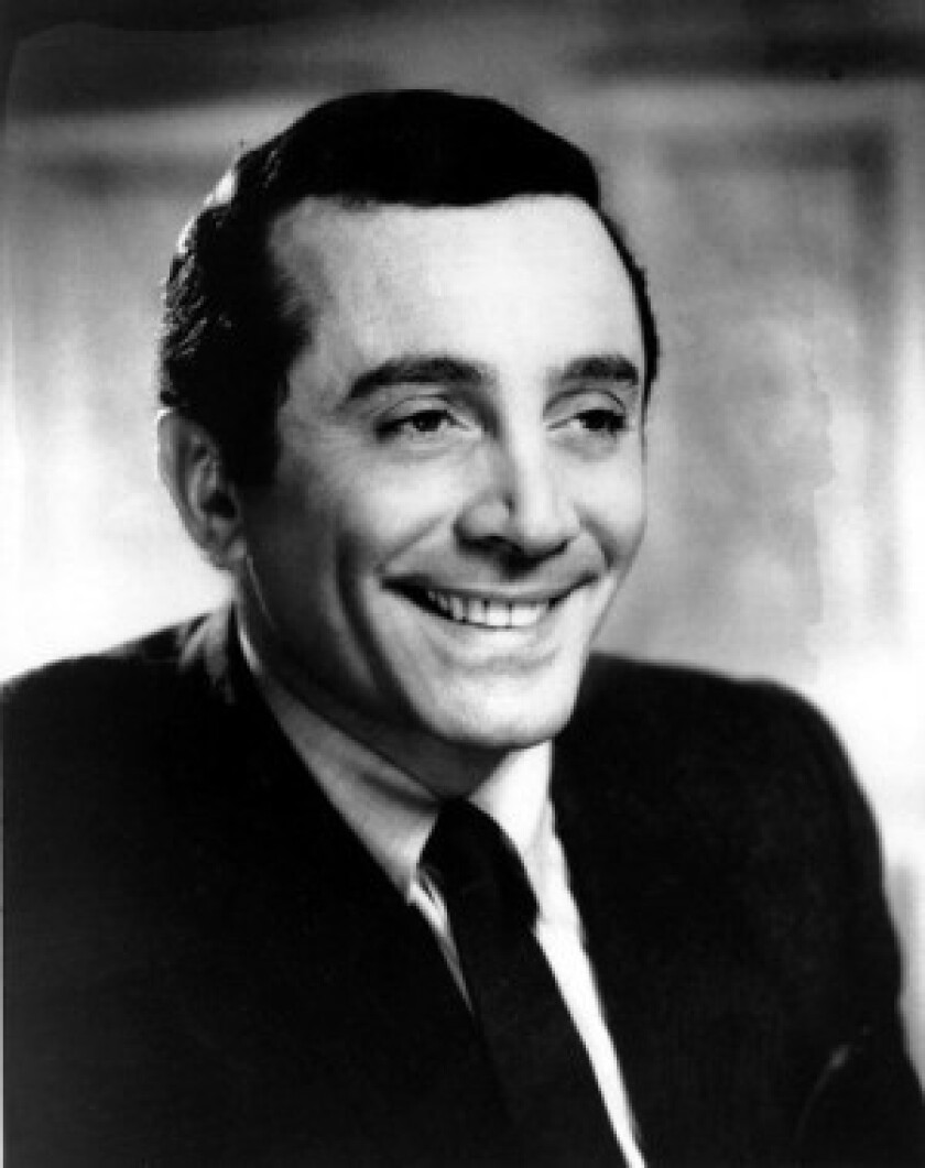 """Al Martino's character in """"The Godfather"""" is a Frank Sinatra-type singer and occasional actor. Though he died in Pennsylvania, Martino had been a longtime Beverly Hills resident."""