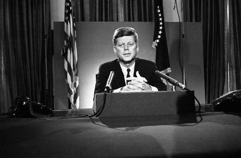 JFK, a pioneer in the women's movement