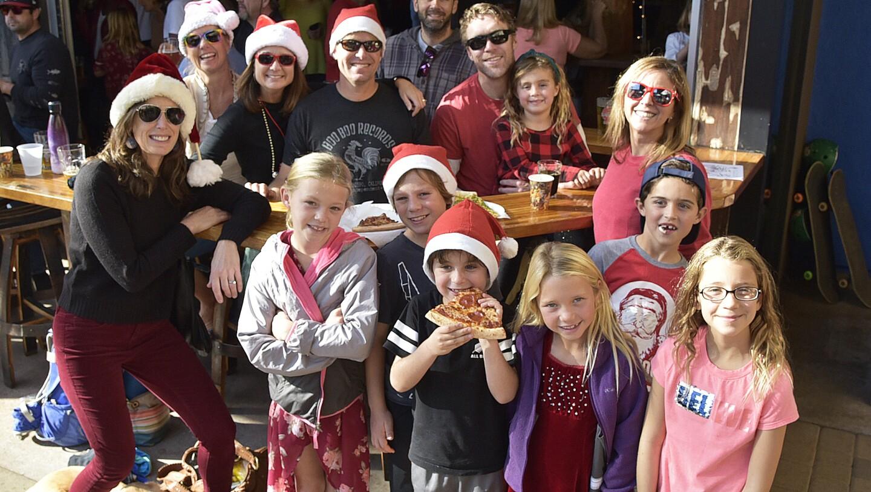 Friends and Family enjoying Kringle Mingle 2019