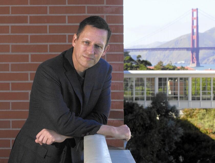 Peter Thiel bullish on L.A. tech economy