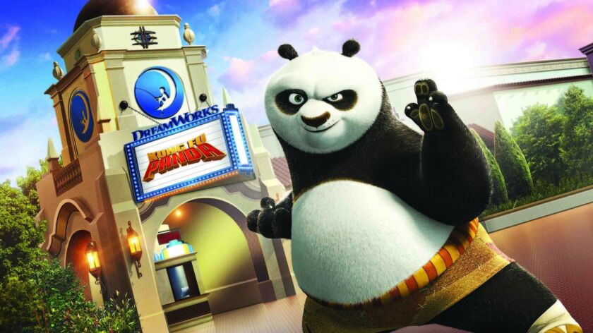 """""""Kung Fu Panda: The Emperor's Quest,"""" a 4-D film experience, will open June 15 at Universal Studios Hollywood."""