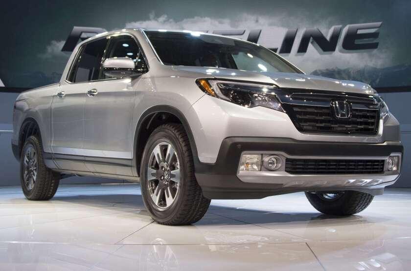 Honda Ridgeline revealed at Detroit Auto Show