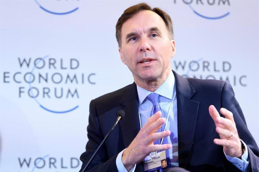 El ministro de Finanzas canadiense, Bill Morneau. EFE/Archivo