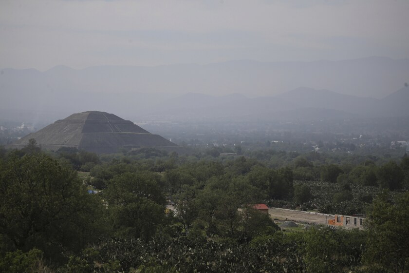 Private building project on outskirts of Teotihuacán, Mexico