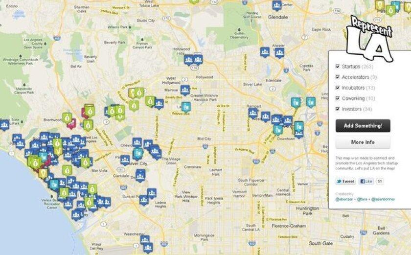 Represent.LA map