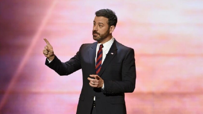 Jimmy Kimmel at the ABC upfronts