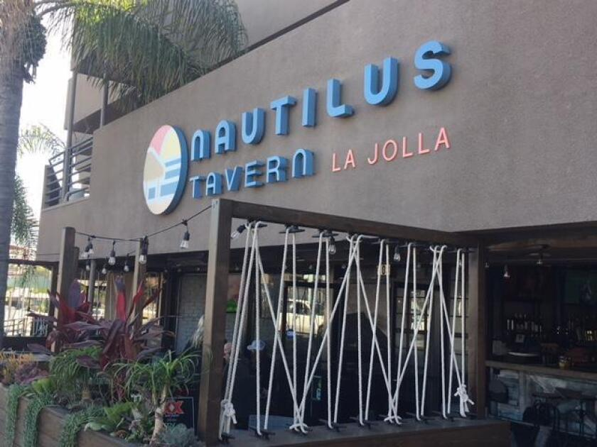 Nautilus Tavern sits at 6830 La Jolla Blvd. in La Jolla.