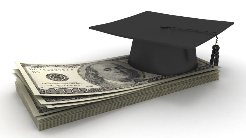 By the time your child starts high school, it's good to have the conversation about who will pay for college.