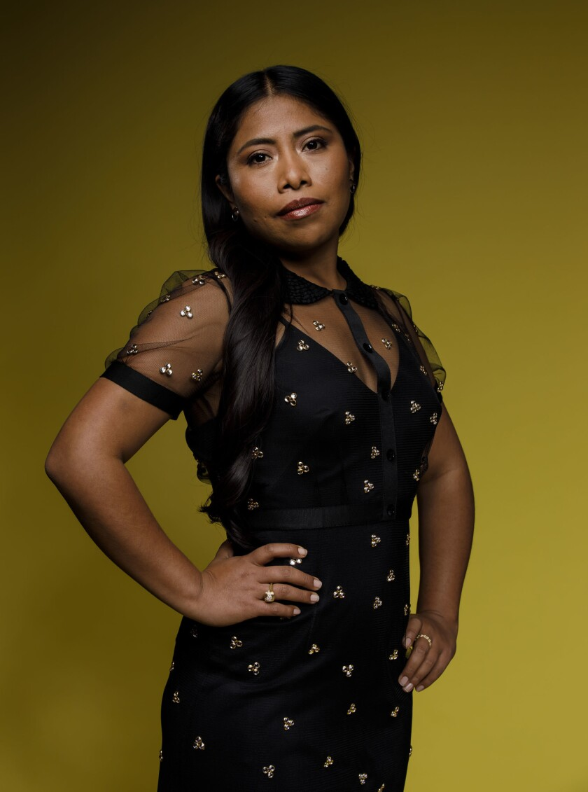 "Yalitza Aparacio, the breakout star and Oscar-nominated protagonist of ""Roma."""