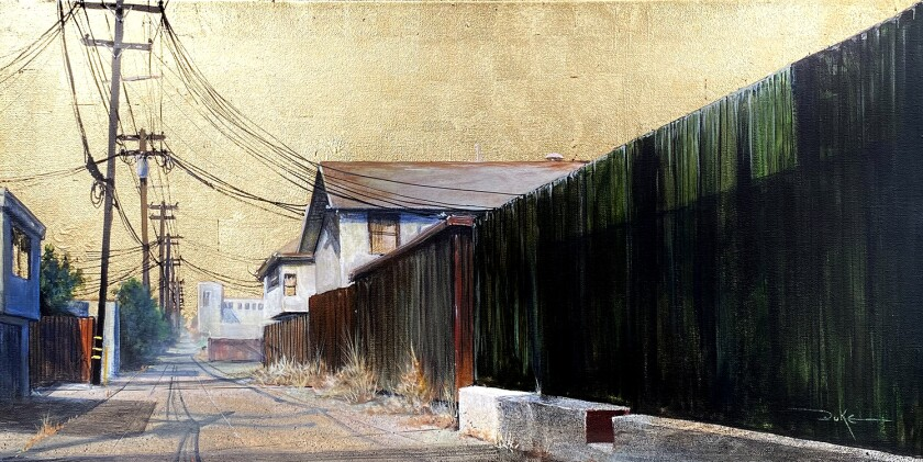 """Green Fence"" by Duke Windsor"