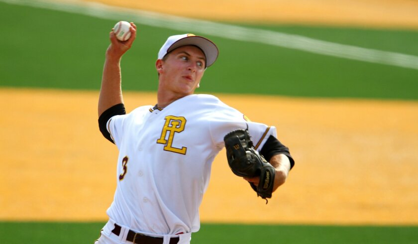Seth Urbon and his Point Loma teammates are scheduled to play La Jolla at 7 p.m. April 18 at Petco Park.