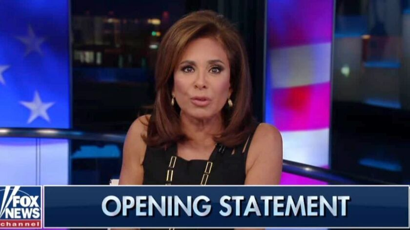 Fox News will keep Jeanine Pirro off the air for a second