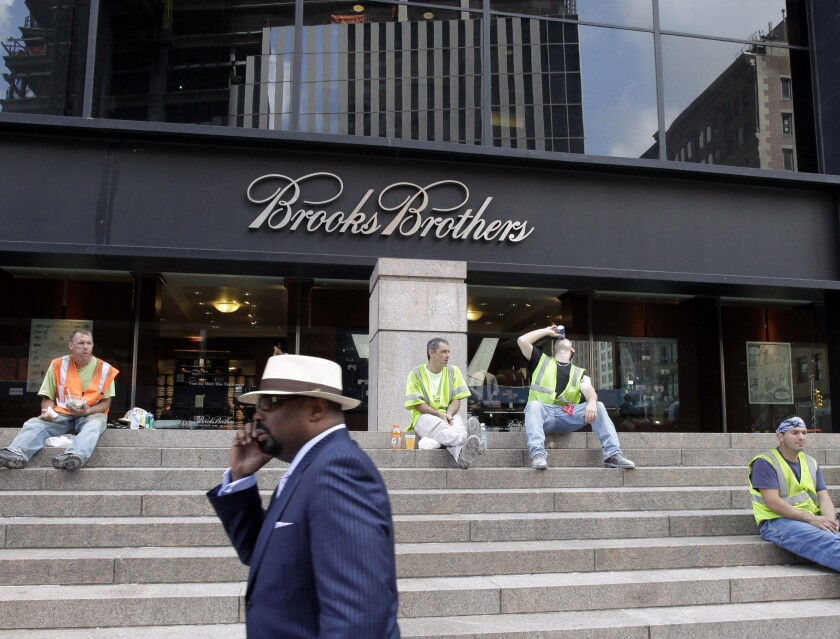 Brooks Brothers in New York