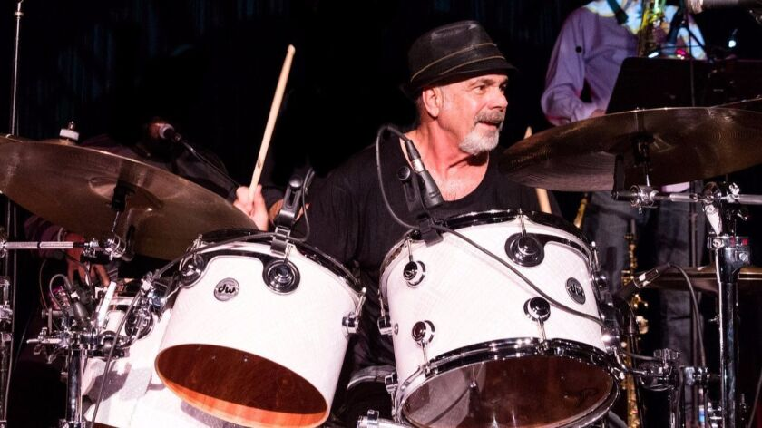 For the past 10 years, former Chicago drummer Danny Seraphine has led his own band, California Transit Authority.