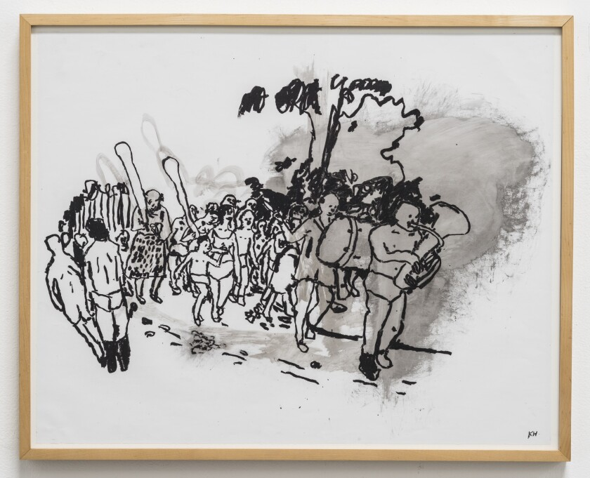Kathleen Henderson drawing