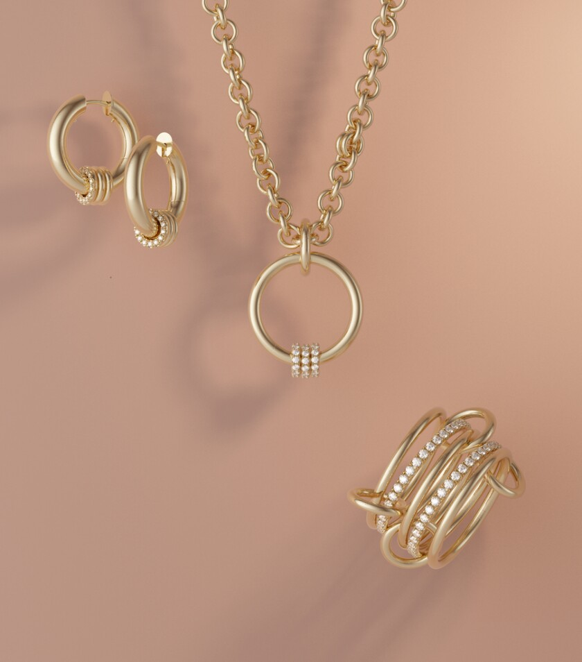 The new Elyse Walker X Spinelli Kilcollin collection