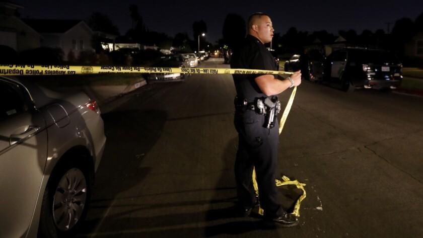 Several injured as gunfire erupts at North Hollywood house