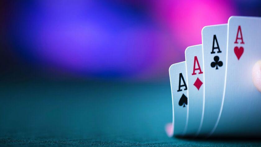 A winning poker hand is a sweet sight.