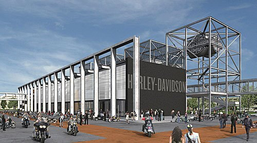 Harley-Davidson Museum Rendering