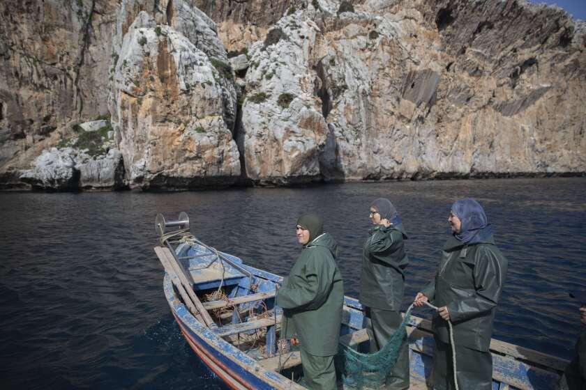 Morocco Fisherwomen Photo Gallery