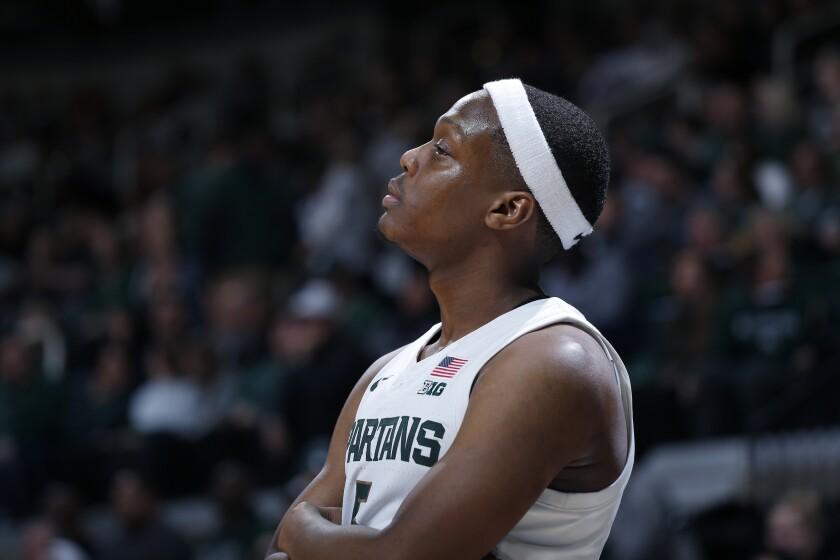 Michigan State's Cassius Winston