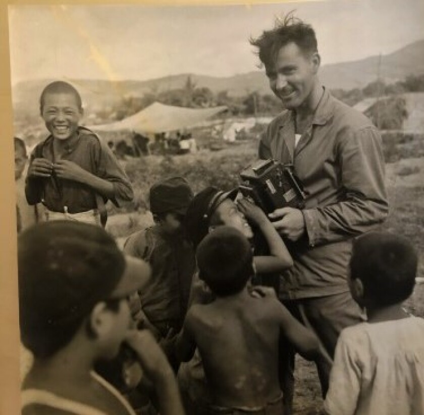 Stanley Troutman on Saipan