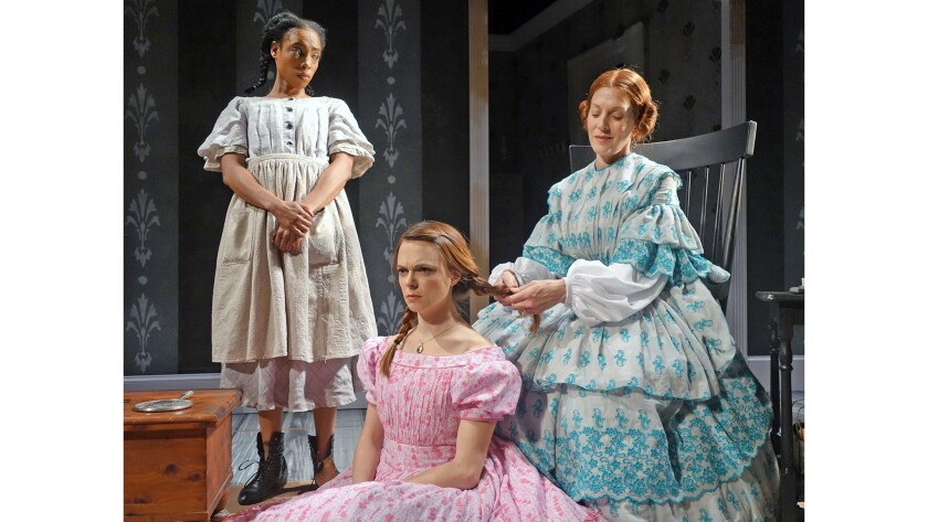 """South Coast Repertory presents """"Little Black Shadows"""" by Kemp Powers and directed by May Adrales. Th"""