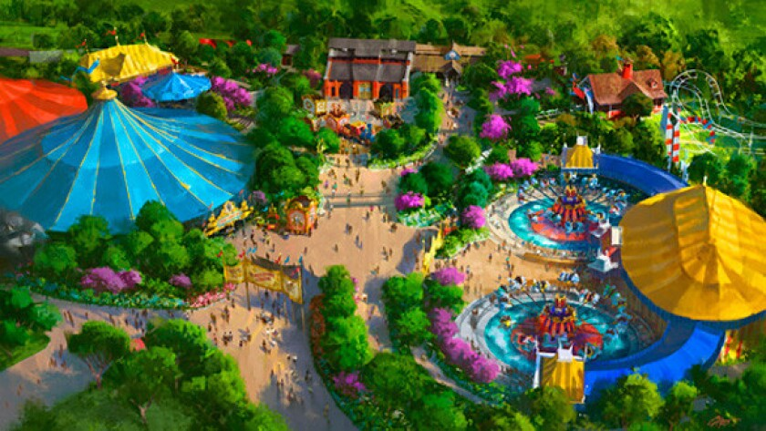 Portions of the Storybook Circus phase of the Fantasyland expansion have opened at the Magic Kingdom.