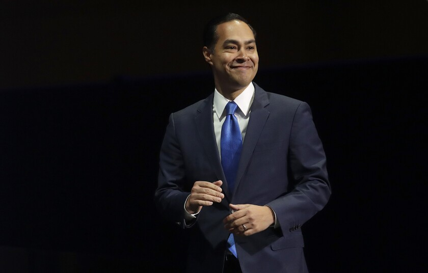 Democratic presidential candidate Julián Castro announced a proposal on Monday that is focused on animal welfare and enhancing protections for vulnerable wildlife populations.