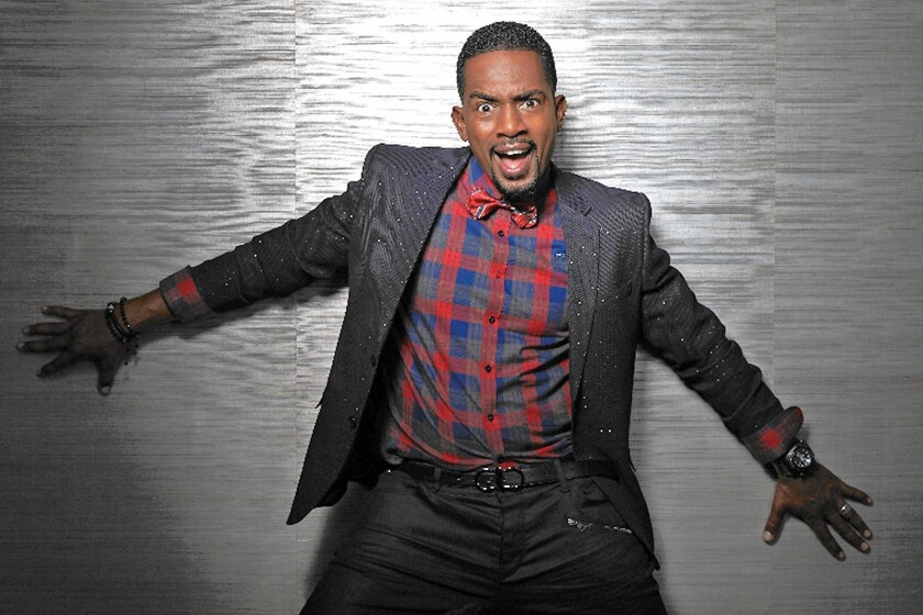 Comedian Bill Bellamy will talk about his family life, crazy experiences and current events when he appears Sunday at Flappers in Burbank.