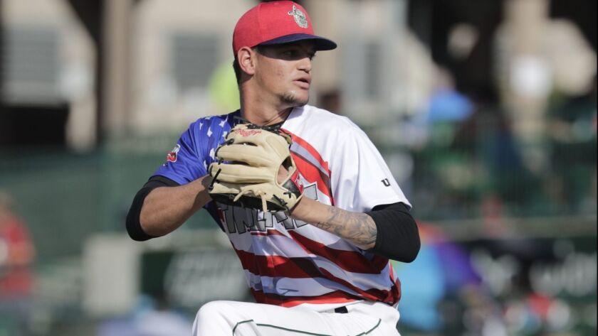 Padres pitching prospect Michel Baez