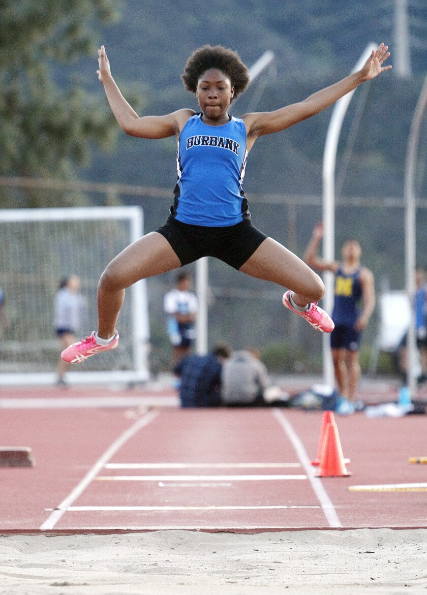 Photo Gallery: Pacific League track meet trio with Burbank, Crescenta Valley, and Muir