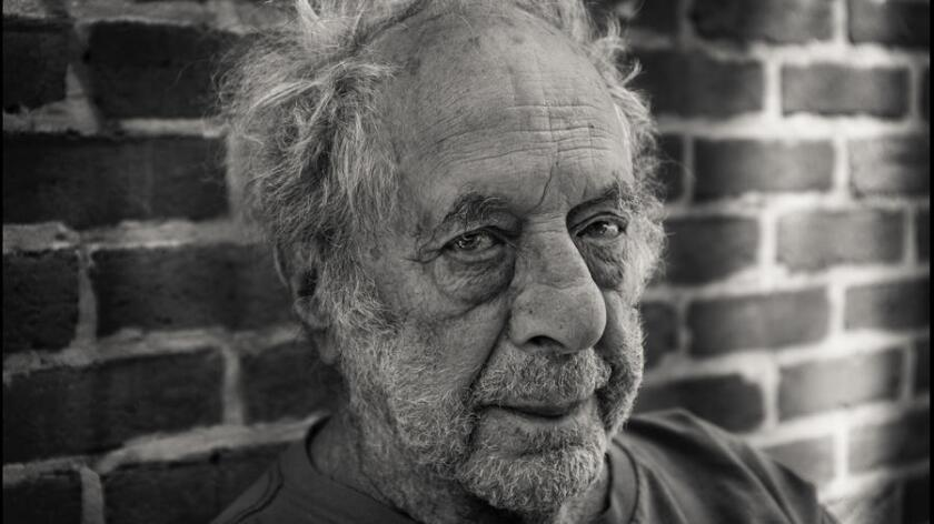 Detail of Robert Frank portrait made by Dan Winters