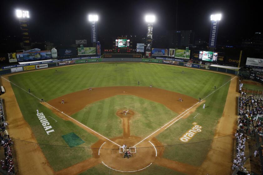 Estadio Quisqueya, en Santo Domingo.