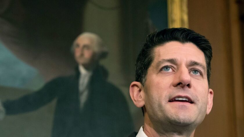 With history and the political climate working to their advantage, Democrats hope to end the House speakership of Republican Paul Ryan.