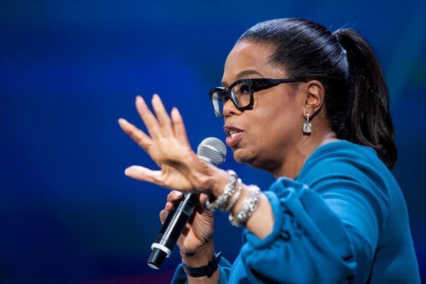 La presentadora de televisión, la estadounidense Oprah Winfrey. EFE/Archivo