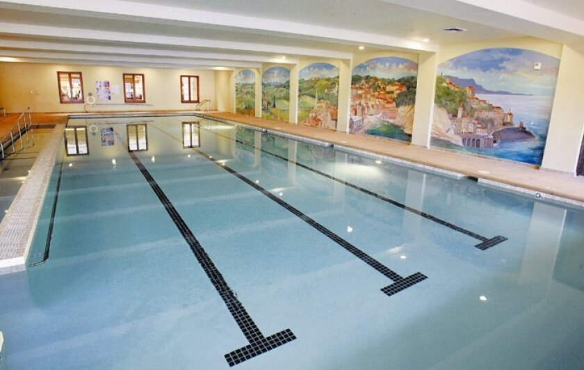 An indoor lap pool awaits residents at Paradise Village, where more than 600 residents are expected to live in the 498-apartment gated community.