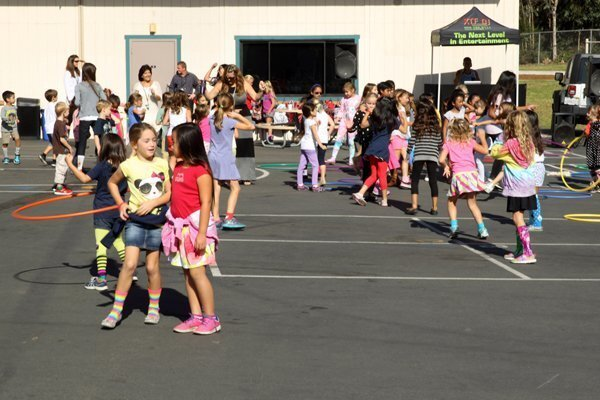 Crazy Sock Day at Solana Santa Fe School