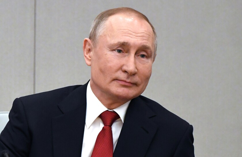 Vladimir Putin, 67, has ruled Russia for more than 20 years.